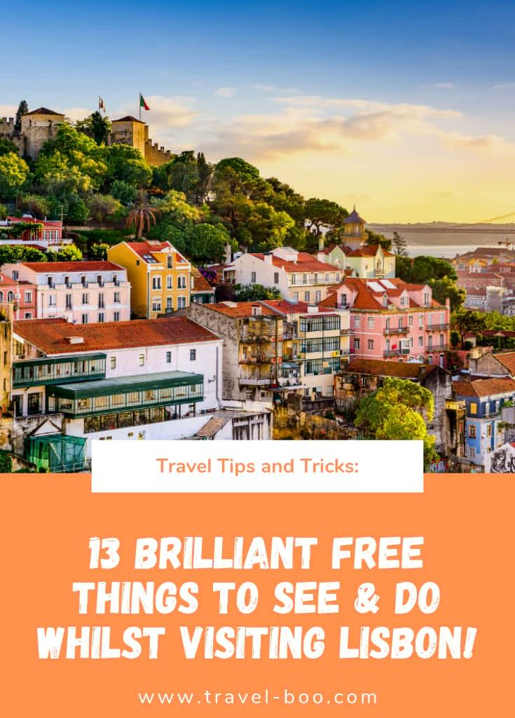 13 Awesome Free things to see & do in Lisbon