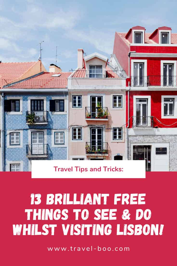 Free Things to see and do in Lisbon