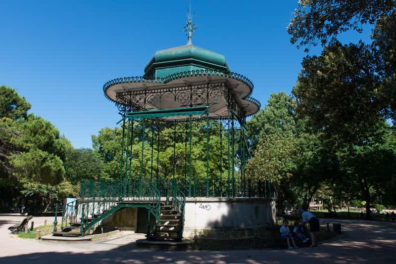 Jardim Estrela Gardens in Lisbon