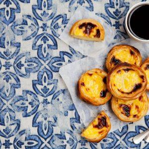 Pasteis de Nata Custard Tarts Portugal