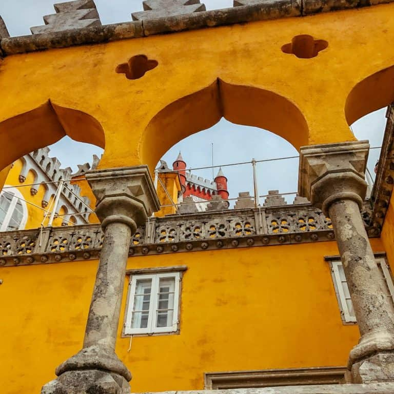 Sintra Pena Palace arches