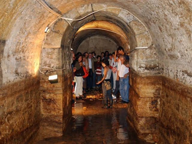 Underground Roman Galleries in Lisbon