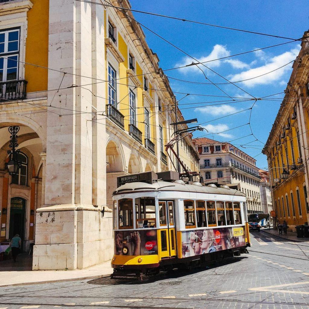 Lisbon Public Transport Tram