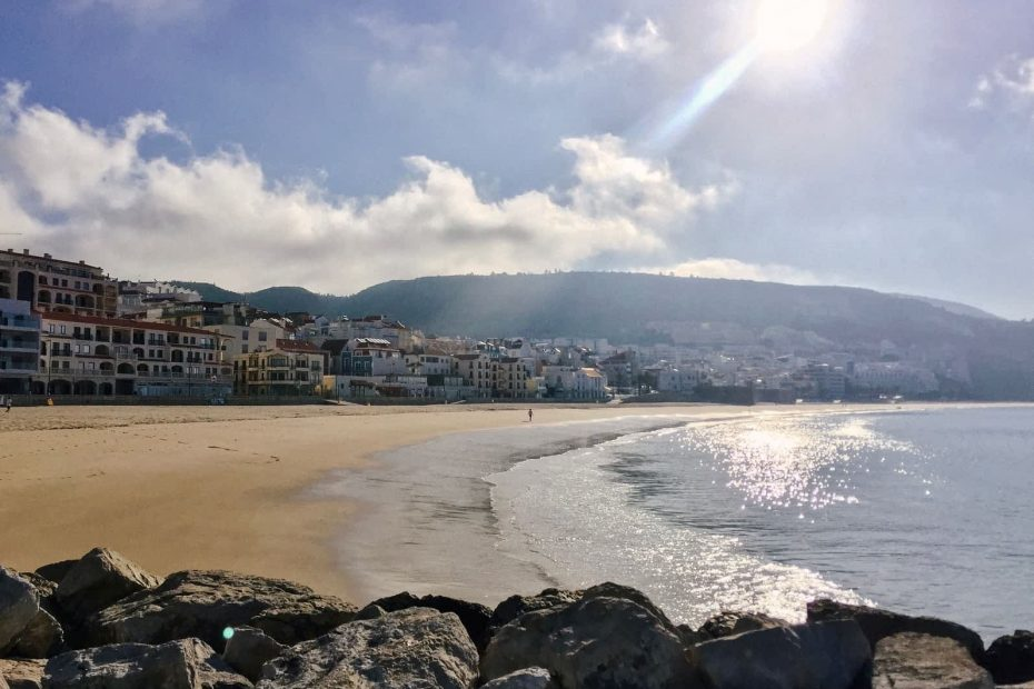 View of Sesimbra