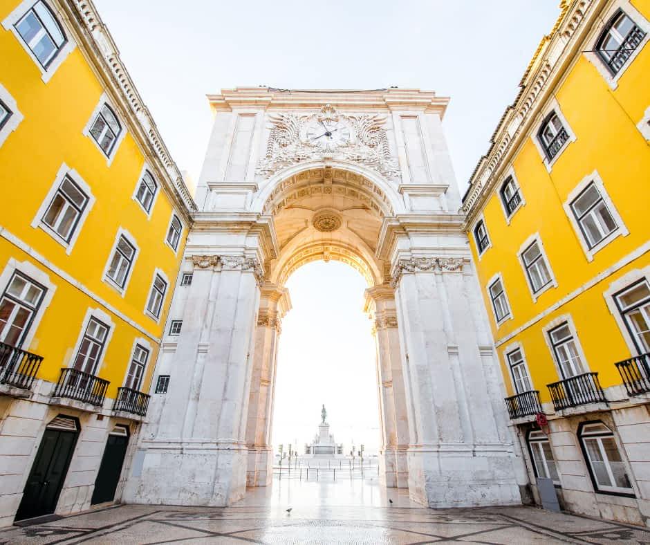 The Rua Augusta Arch, Lisbon - 1 Day in Lisbon