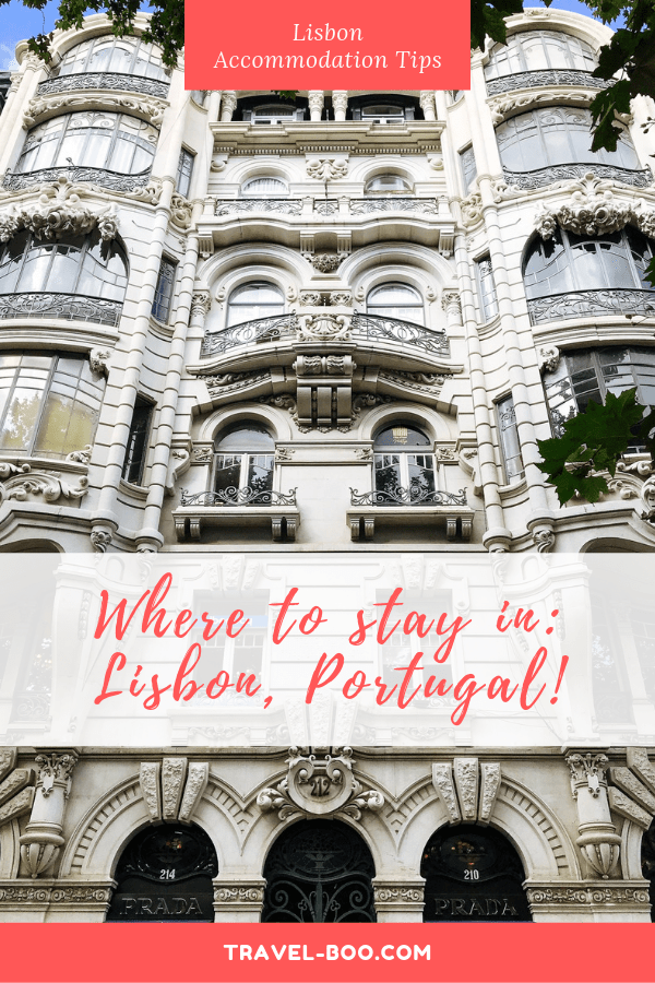 Where to stay in Lisbon Portugal!