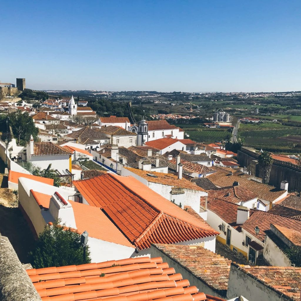 Views of Obidos Portugal