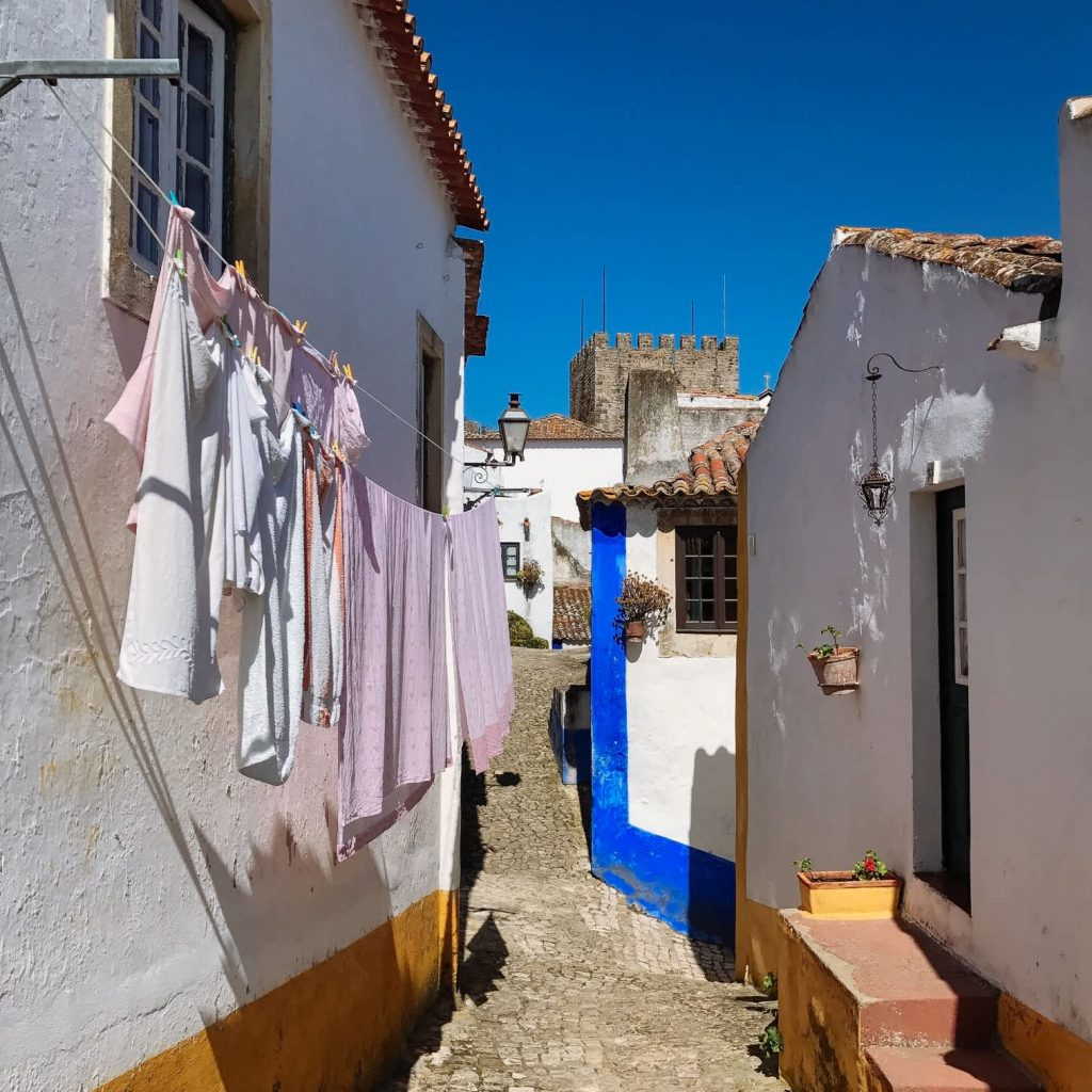Obidos Portugal street