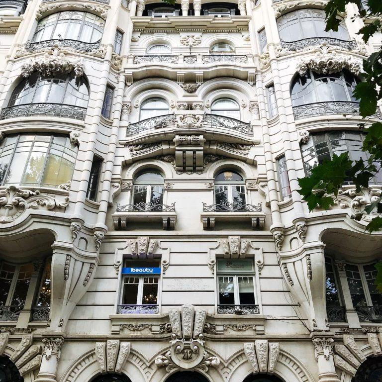 Stunning Prada Building on Avenida Liberdade, Lisbon