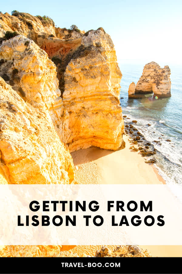 Getting from Lisbon to Lagos, Portugal