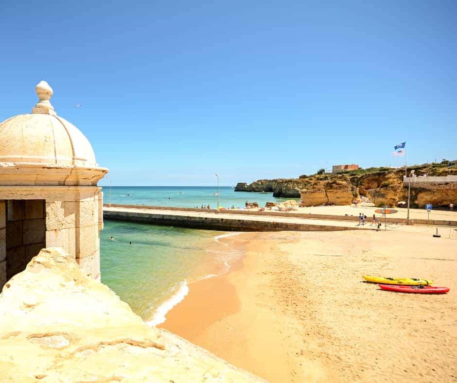 Praia da Batata Lagos Portugal Beach