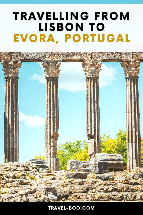 Getting from Lisbon to Evora