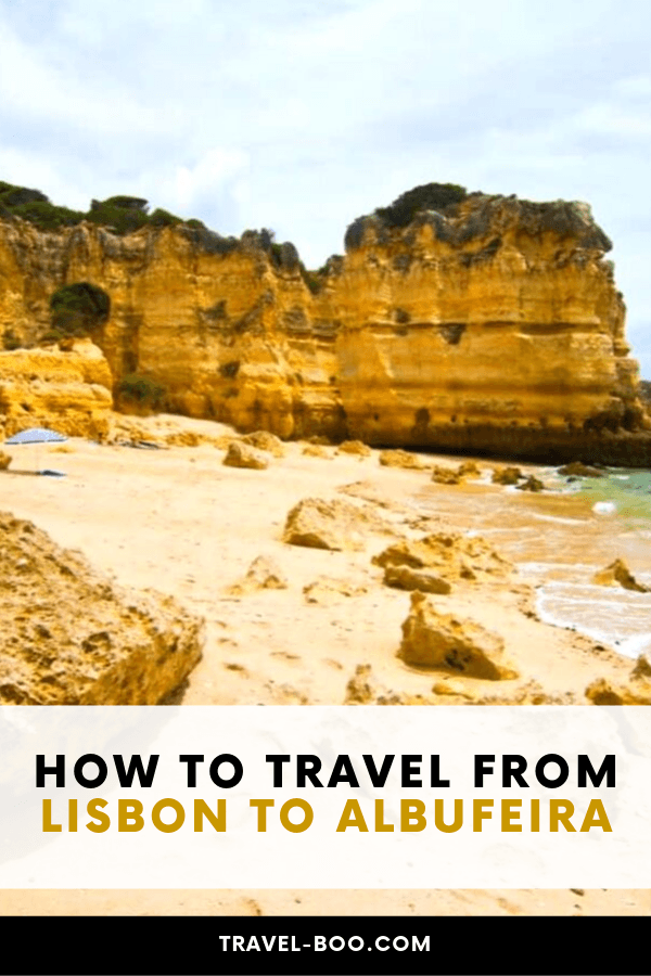 How to get from Lisbon to Albufeira, Portugal