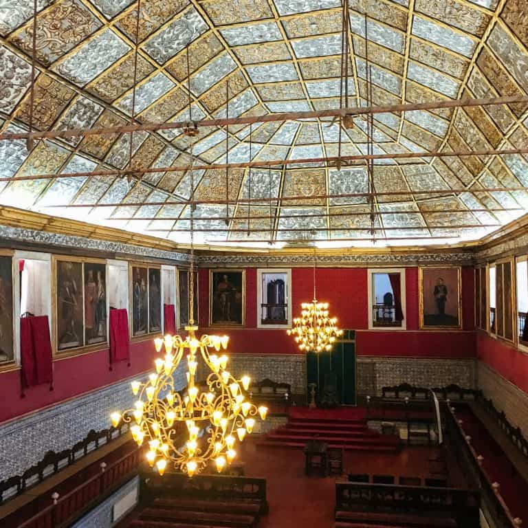 University of Coimbra Main Hall
