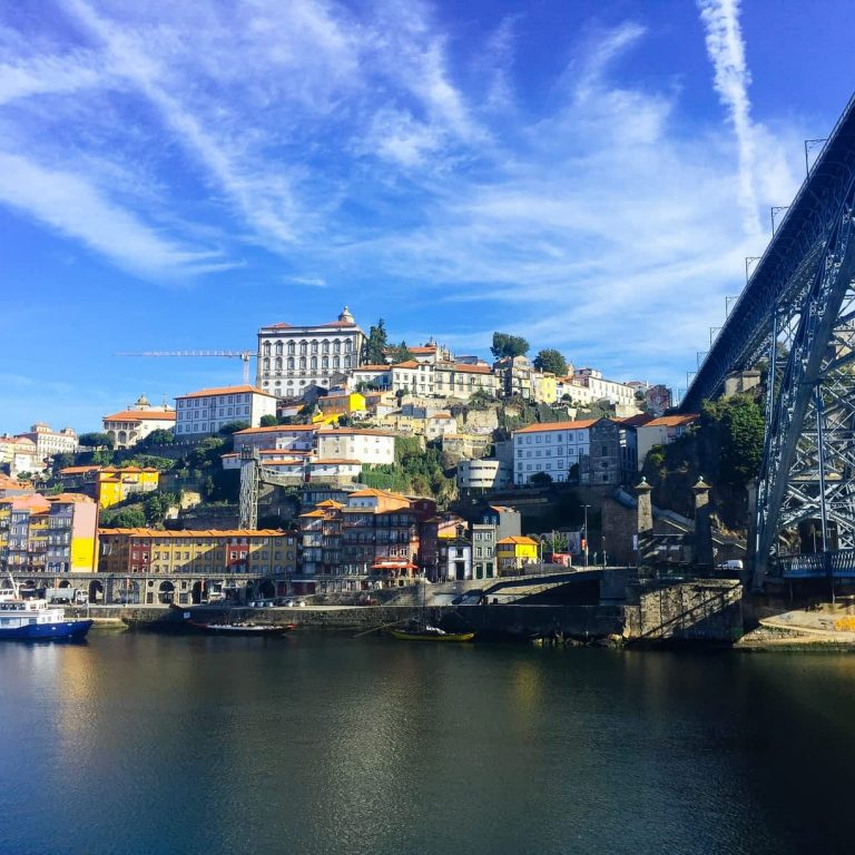 View from the Bridge to Porto