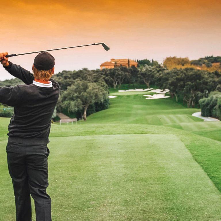 Golfing in Vilamoura