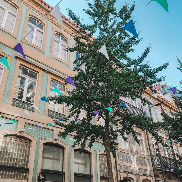 Street in Porto, Portugal
