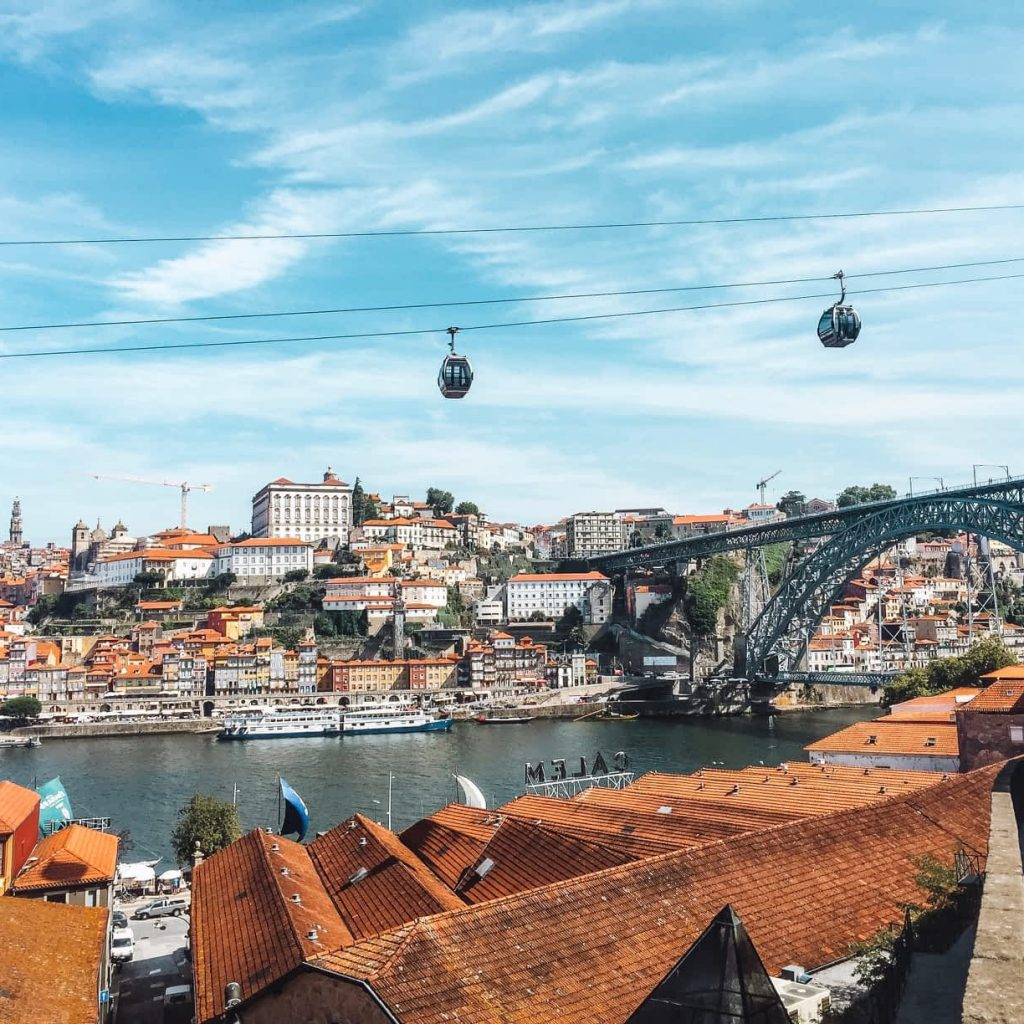 Views of Porto in Portugal