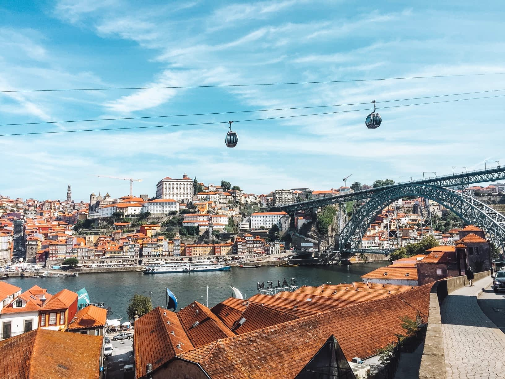 Views of Porto in Portugal