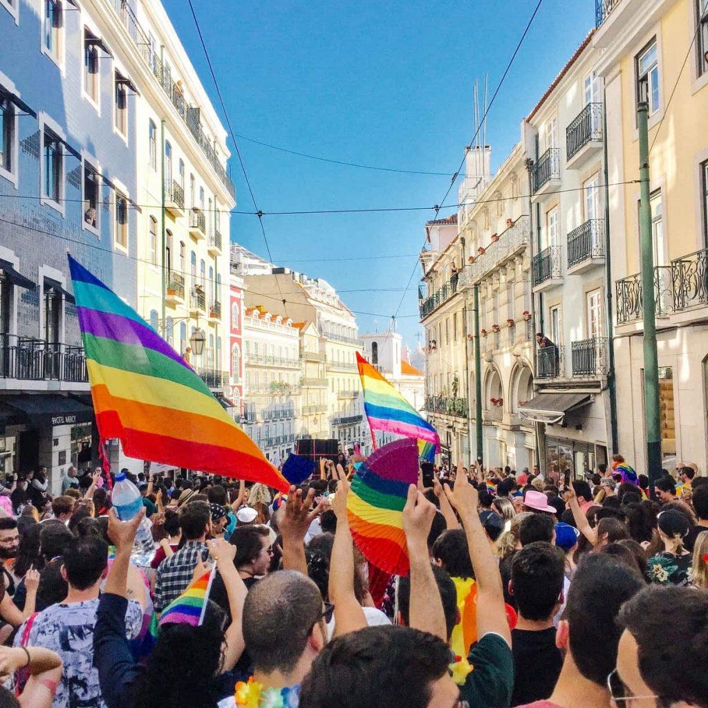 Gay Pride March in Lisbon