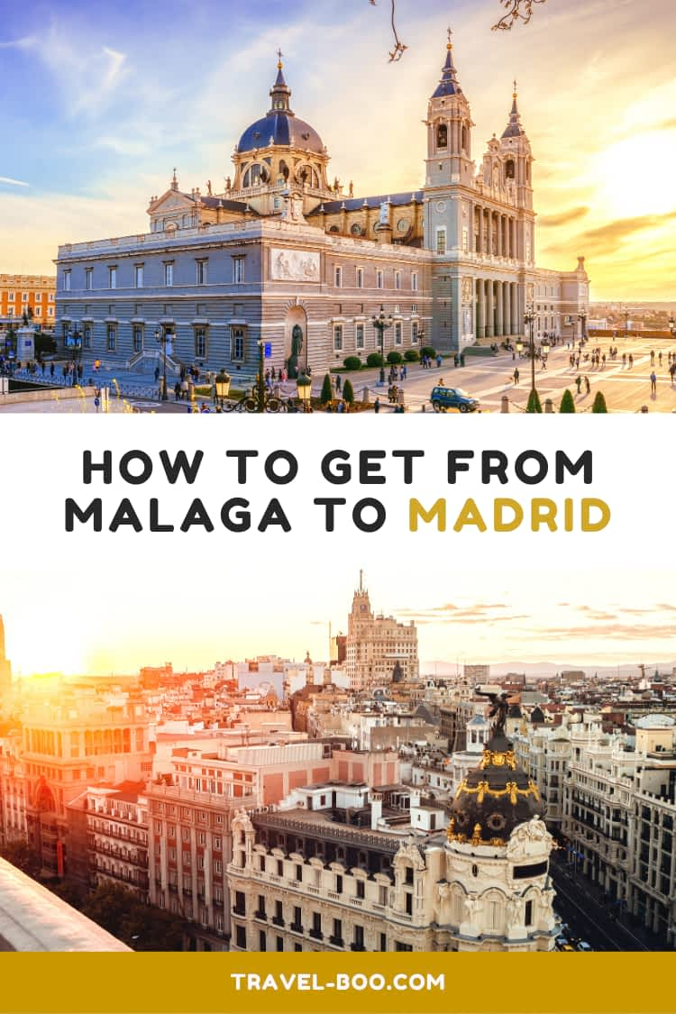 How to get from Malaga to Madrid, Spain travel guide. Spain Travels | Malaga | Madrid | Spain Itinerary | Travel to Spain | Madrid Spain | Spain Bucketlist #spaintravels #spain #madrid #malaga