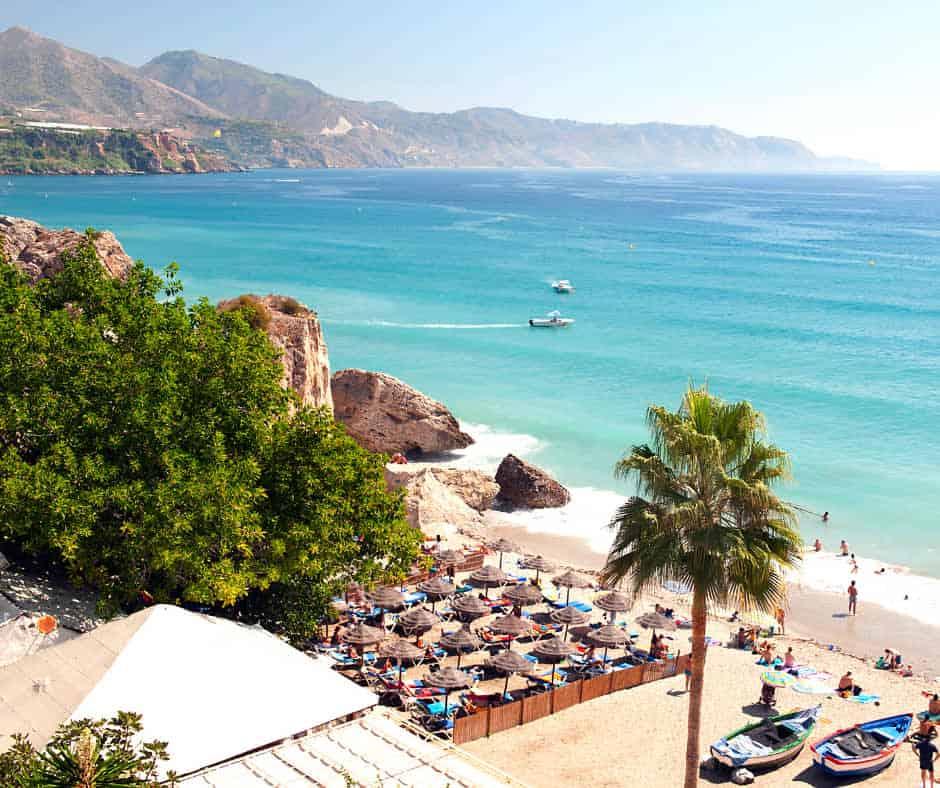 Nerja Beach, Spain