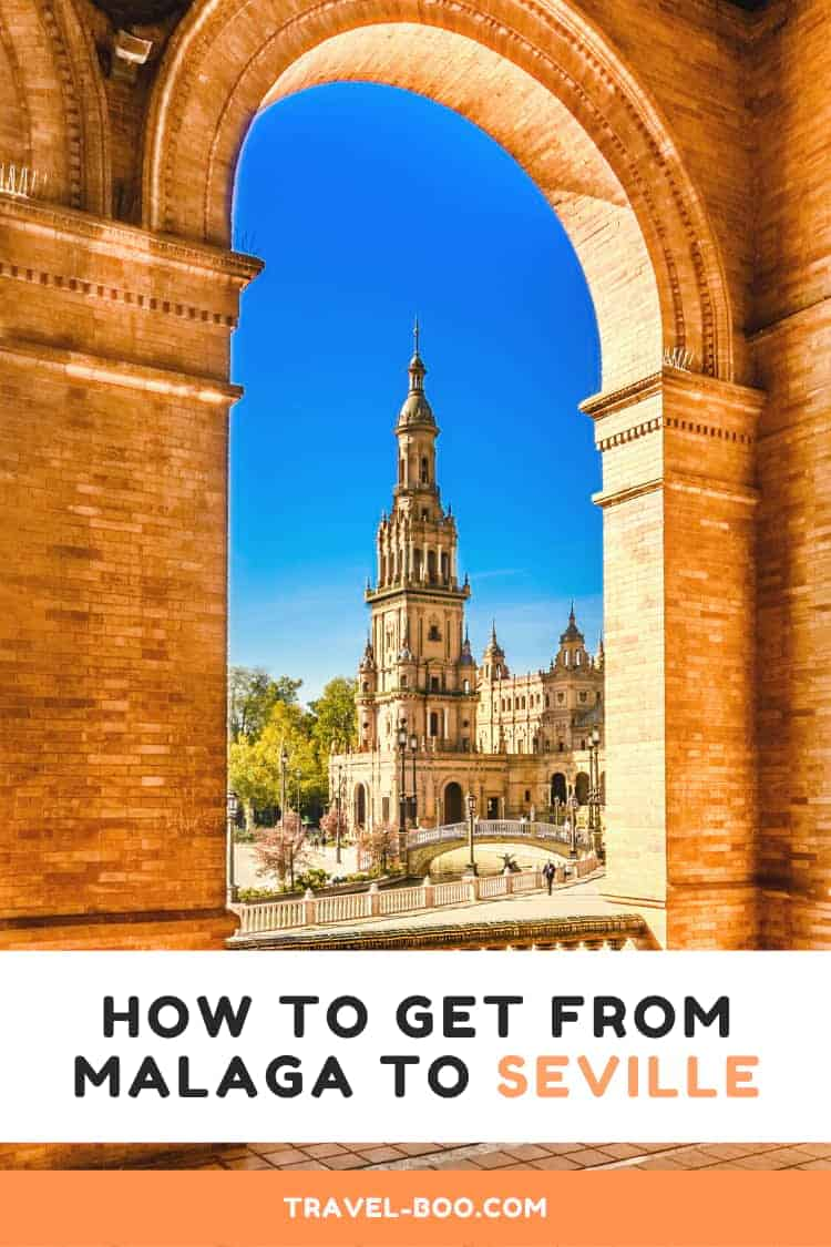 How to get from Malaga to Seville, Spain! Travel Guide from Malaga to Seville. Spain Travel | Seville | Malaga | Spain Holidays | Travel to Spain #Spaintravel #Spain #Seville #Malaga
