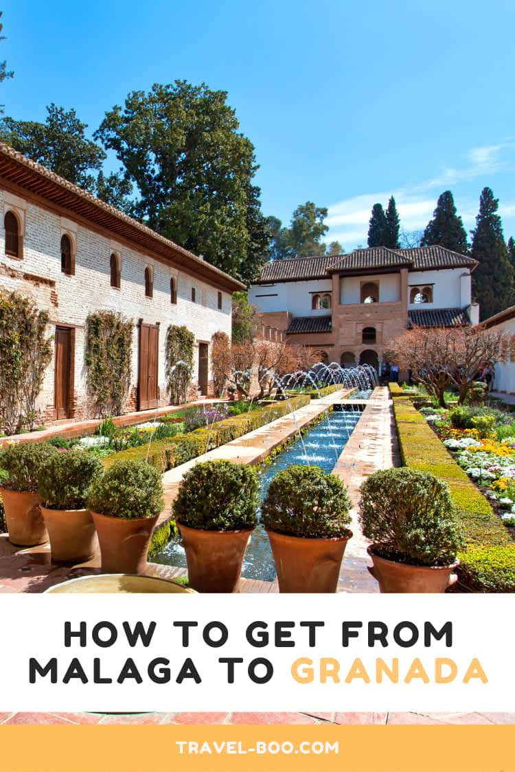 How to get from Malaga to Granada Travel Guide. Visit Spain | Granada | Spain Travel | Malaga | Spain Bucketlist | Travel to Spain | Granada Spain #granadaspain #spain #spaintravel #malaga
