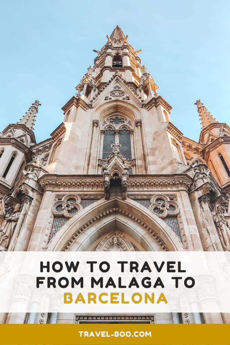 How to get from Malaga to Barcelona. Visiting Spain | Spain Travels | Malaga to Barcelona #barcelona #spaintravel #barcelonatravel