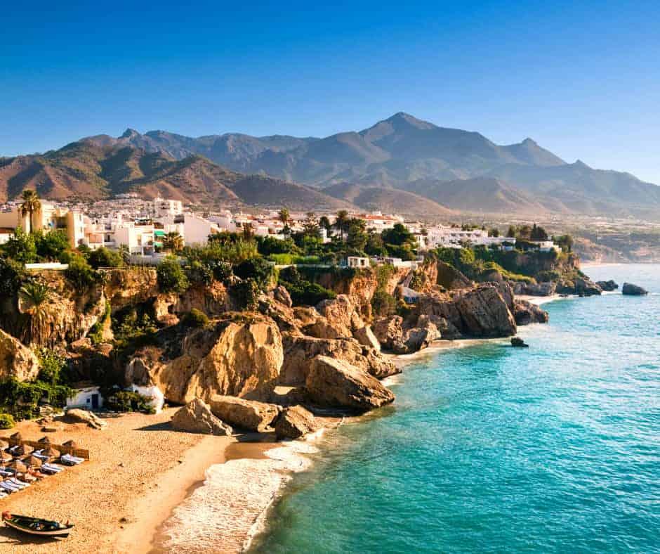 Nerja Coastline, Spain