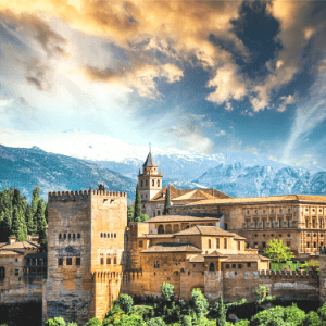 How to get from Malaga to Granada, Spain