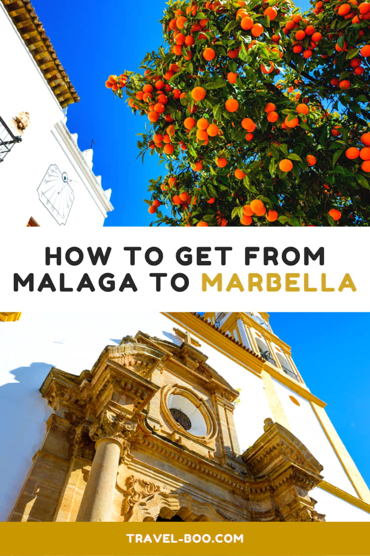 How to get from Malaga to Marbella - Travel Guide. Visiting Marbella and need to find out how to travel from Malaga? This guide outlines exactly how. Spain Travels | Malaga | Marbella #Malaga #Marbella #Spaintravels