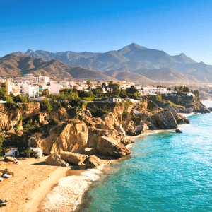 How to get from Malaga to Nerja, Spain