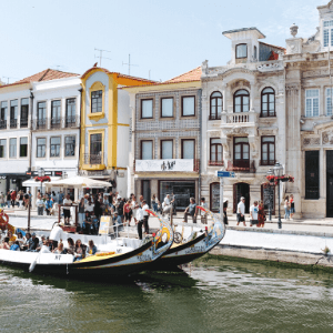 How to get from Porto to Aveiro, Portugal, by train, bus or car