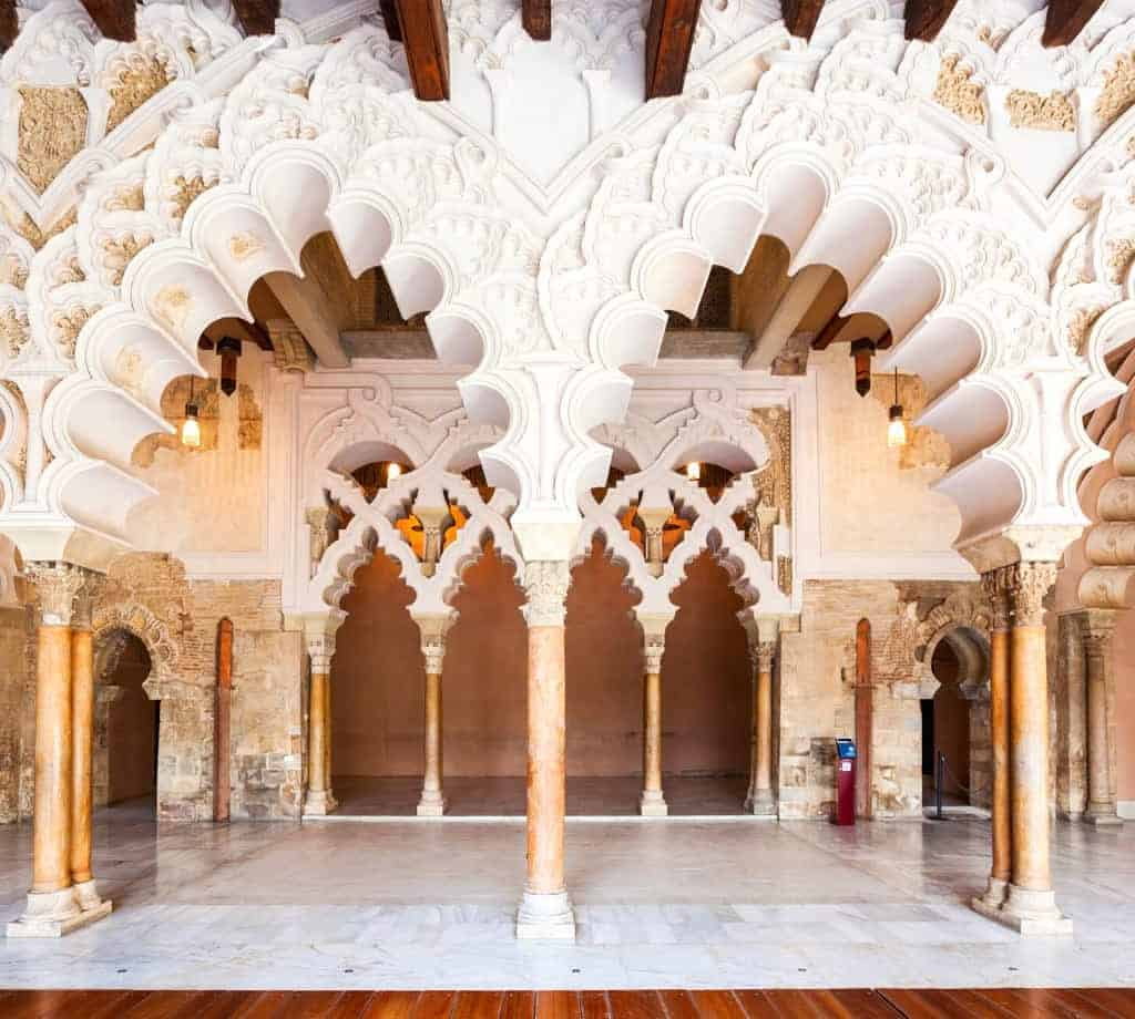 Aljaferia Palace in Zaragoza © (By Andrey Khrobostov) via Canva.com