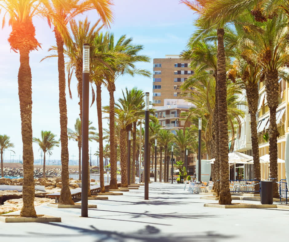Av. de los Marineros, Torrevieja - © (By chasdesign from Getty Images Pro) via Canva.com