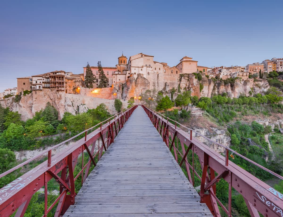 How to get from Madrid to Cuenca in Spain
