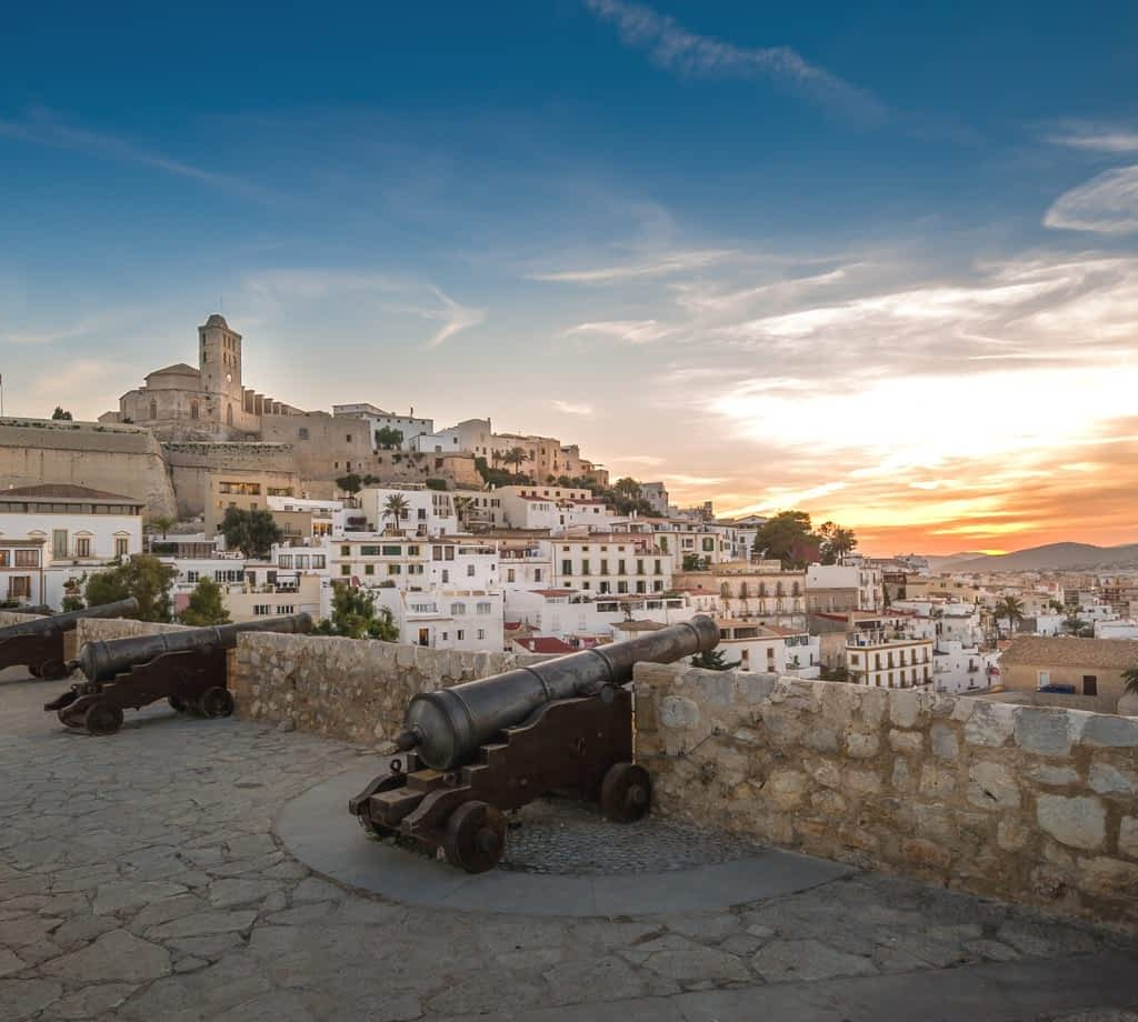 Dalt Vila fortress © (By AlexanderNikiforov from Getty Images Pro) via Canva.com