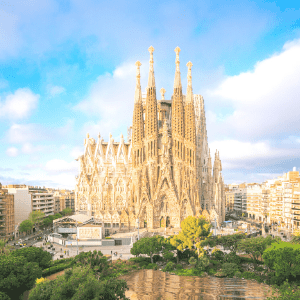 Travelling from Barcelona to Zaragoza in Spain