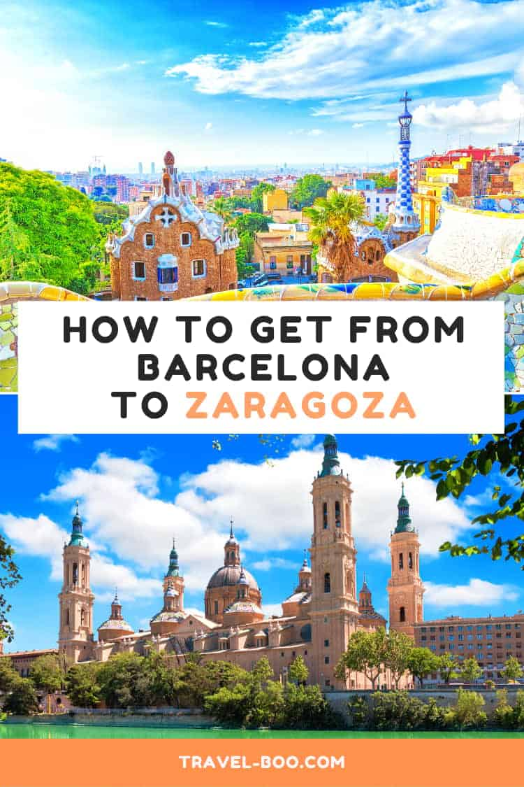 How to get from Barcelona to Zaragoza, Spain. Spain Travel | Spain Travel Guides | Spain Travel Tips | Spain Travel Itinerary | Barcelona | Zaragoza | Spain Bucket List