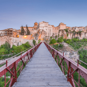 How to get from Madrid to Cuenca Spain