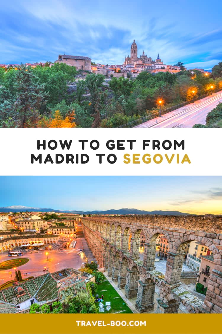 How to get from Madrid to Segovia in Spain | Spain Travels | Spain | Madrid | Segovia | Spain Travel Bucketlist | Spain Travel Guides | Spain Itineraries