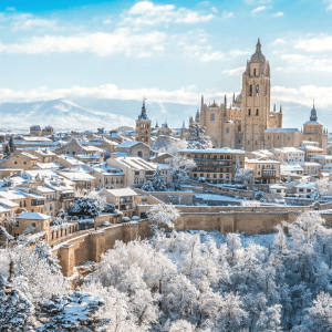 How to get from Madrid to Segovia, Spain