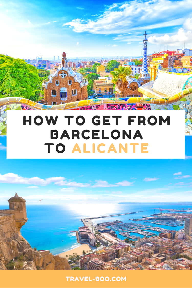 How to get from Barcelona to Alicante in Spain. Spain Travels | Spain Travel Guides | Spain Travel Tips | Spain Travel Itinerary | Spain Bucket List | Europe Travels