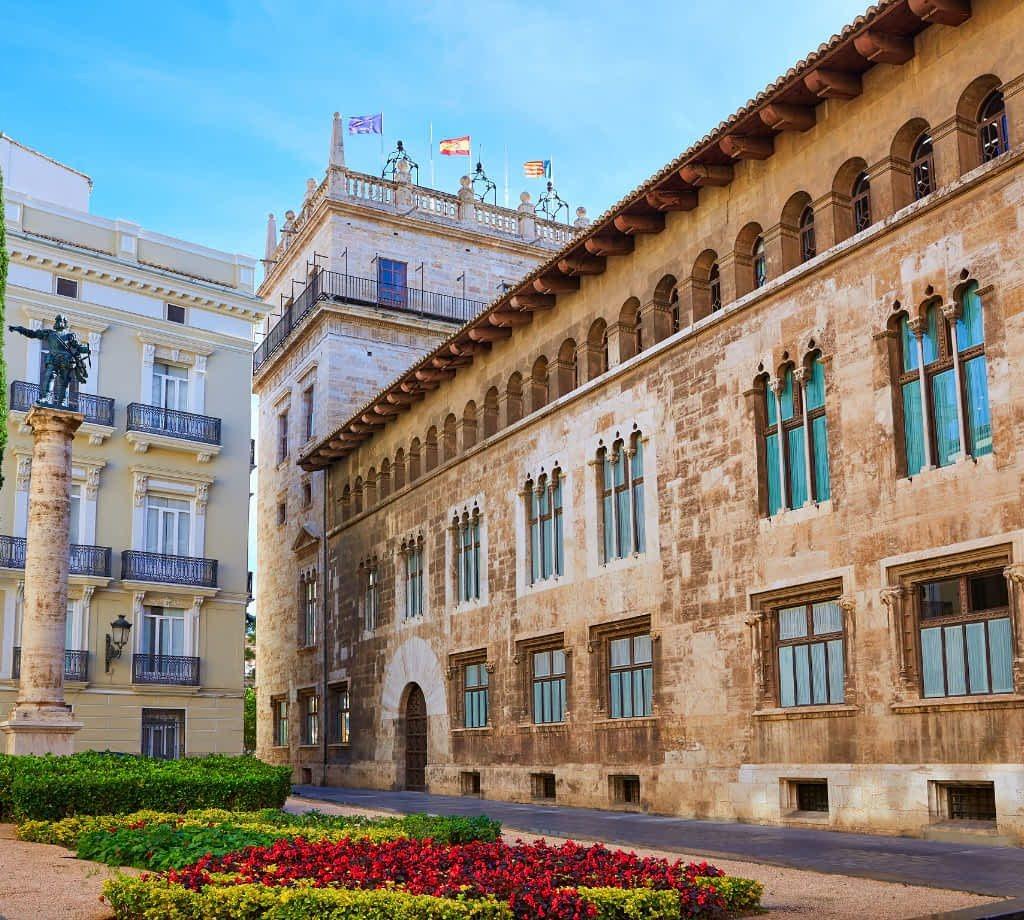 Palau de la Generalitat Valencia © (By Lunamarina) via Canva.com