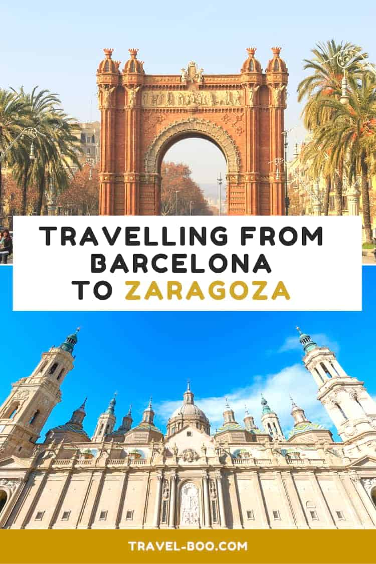 How to get from Barcelona to Zaragoza, Spain. Spain Travel   Spain Travel Guides   Spain Travel Tips   Spain Travel Itinerary   Barcelona   Zaragoza   Spain Bucket List
