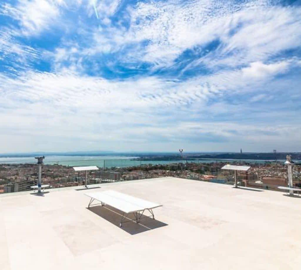 Amoreiras 360 Panoramic View © Amoreiras 360 View