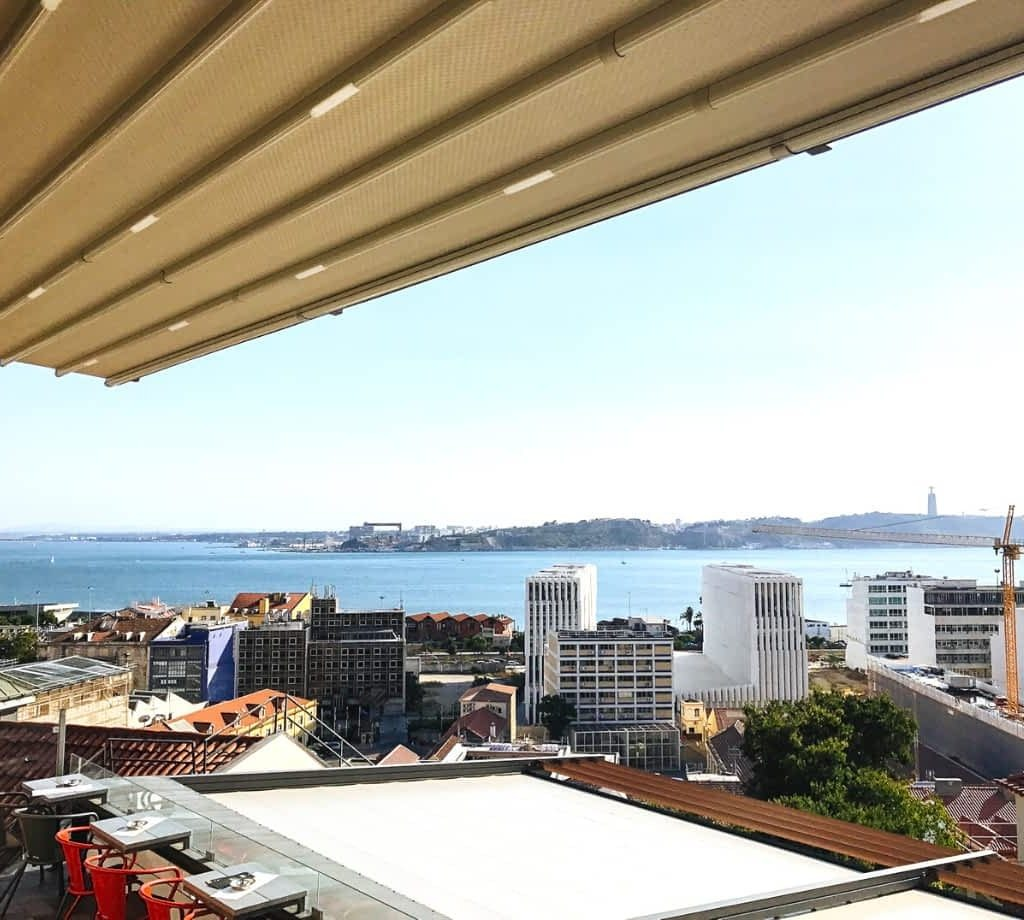 View from Noobai, Lisbon