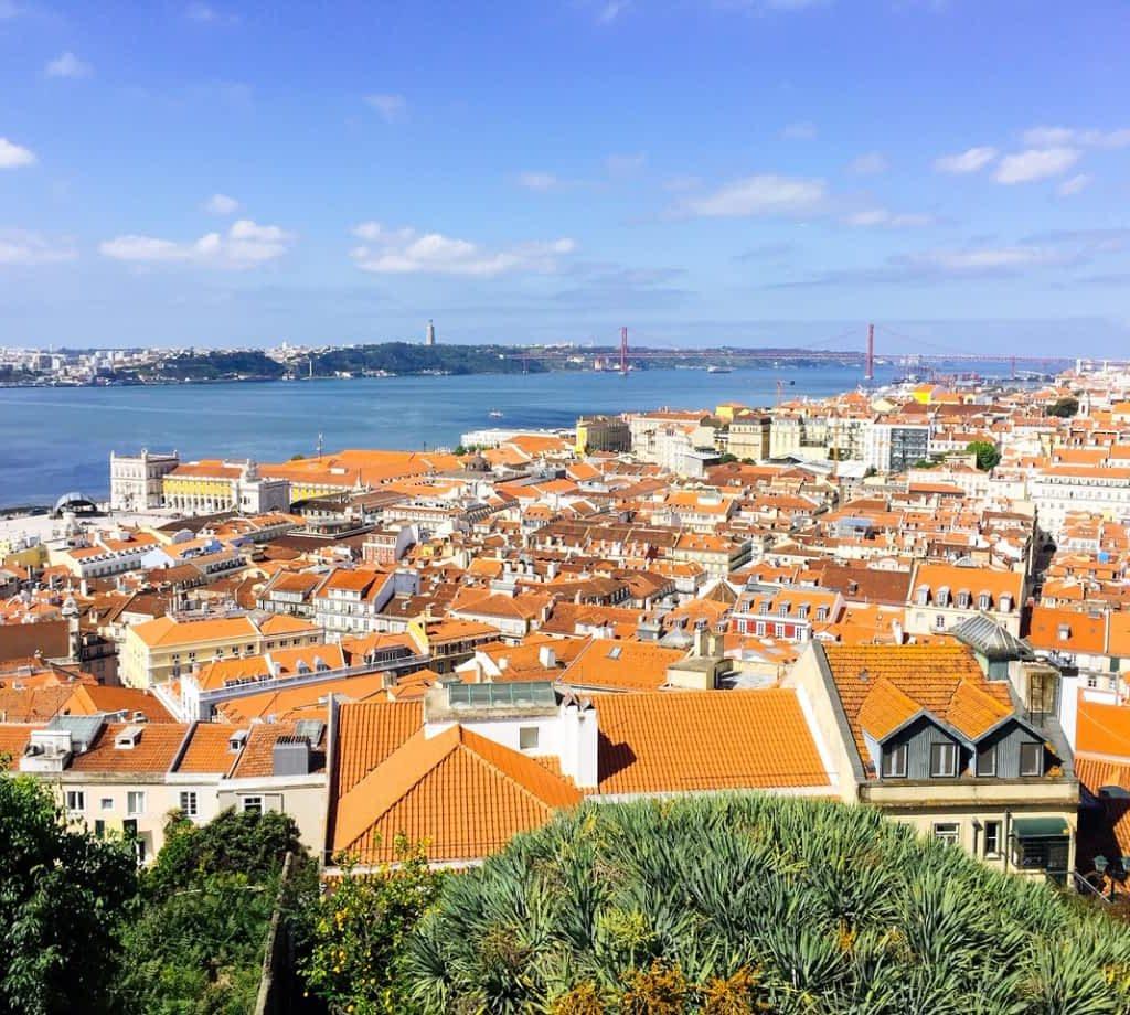 Castelo de São Jorge view over Lisbon