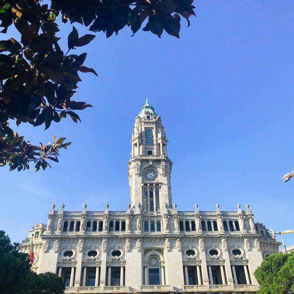 Aliados Avenue Porto